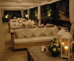 Salotti della Masseria per il ricevimento di matrimonio