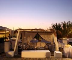 Coccaro Beach Club - Wedding Gazebo