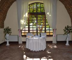 Castello di Cortanze - L'angolo gli sposi