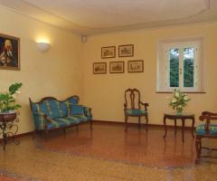 Villa Fabio - Particolari della sala di ingresso