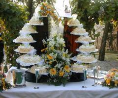 Ristorante Piccolo Mondo - La torta nuziale