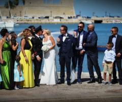 Michele Manicone Fotografia - Gli sposi con gli amici