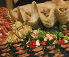 Finger food per l'antipasto di nozze