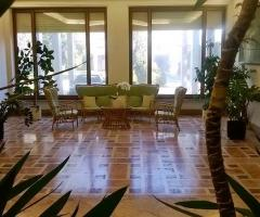 Sala interna per gli ospiti