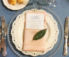 Borgo Ducale Brindisi - Il menu del ricevimento di nozze