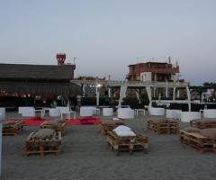 Castello Miramare - Zona relax durante il ricevimento di matrimonio