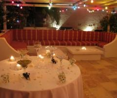 Masseria Torre Coccaro - Lounge dell'aia per il matrimonio