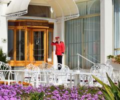 Royal Hotel Sanremo - Ingresso dell'hotel