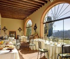Hotel Villa Michelangelo - Sala Portico per il ricevimento di matrimonio