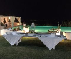 Masseria Santa Teresa - Il buffet a bordo piscina