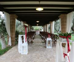 Casale San Nicola - Il rito civile all'aperto