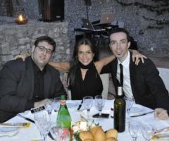 Vincenzo Sgaramella con alcuni collaboratori