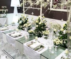 Lady Tiffany - Allestimento floreale dei tavoli