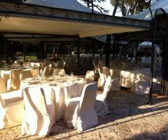 Casa Isabella - I tavoli per il rinfresco di nozze