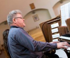 Giancarlo all'organo