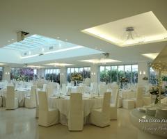 Villa Ciardi - L'ampia sala interna