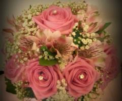 Opere di fata - Bouquet con le rose