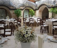 Masseria del Gelso Antico - Allestimenti floreali
