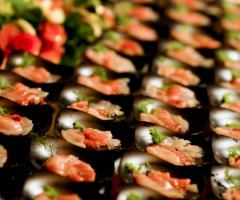 Finger food di pesce per il matrimonio