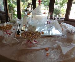Matrimonio a Parco Gambrinus: l'angolo dei confetti