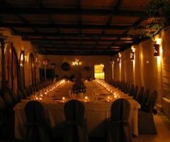 Masseria Torre Coccaro - Cena di matrimonio nella sala della Masseria