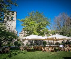 Abbazia di Sant'Andrea in Flumine - Matrimonio in giardino