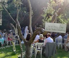 Masseria Cariello Nuovo - Il rito civile in giardino