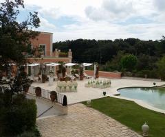 Villa San Martino - Allestimento per la cerimonia civile