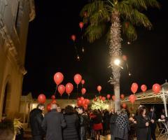 Luisa Mascolino Wedding Planner Sicilia - Il lancio dei palloncini