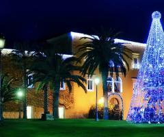 Allestimento Natale della location