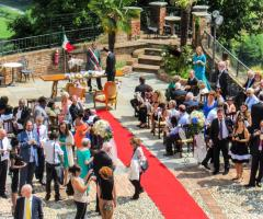 Castello di Cortanze - Gli invitati sono pronti