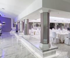 Villa Demetra - La particolarità del salone