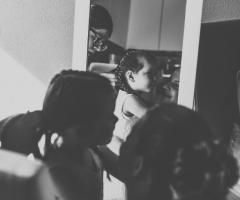 Tatiana Ruiz Make up - Acconciatura piccola damigella