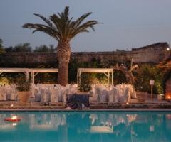 Masseria Torre Maizza - Ricevimento di matrimonio a bordo piscina