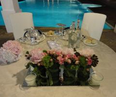 Masseria Santa Teresa - La coreografia del tavolo degli sposi