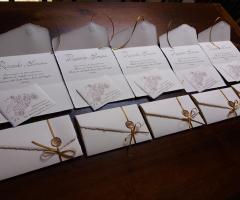 Sara Carloni Studio - Partecipazioni in carta amalfi