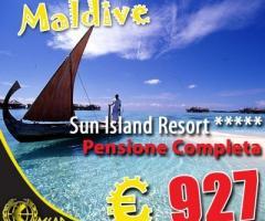 Resort esclusivo per la luna di miele alle Maldive