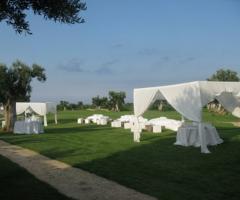 Allestimento per il matrimonio Picnic nel campo da golf