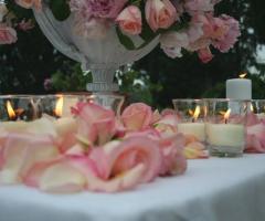 Dettagli floreali per il matrimonio