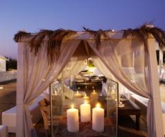 Coccaro Beach Club - Allestimento in spiaggia a Monopoli (Bari)