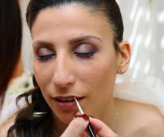 Rosa Laguardia Hair Style - Il make-up per la sposa
