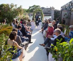 Il giardino di Villa Lina - La cerimonia simbolica