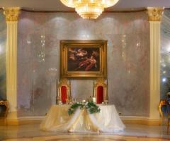 Lo Smeraldo Ricevimenti - Il tavolo degli sposi al Palladio