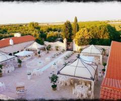Masseria Cariello Nuovo - La vista dall'alto