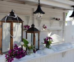 Casale del Murgese - Decorazioni floreali