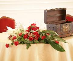 Centrotavola floreale per il matrimonio