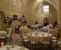 Torre Giulia - Mise en place elegante per il matrimonio