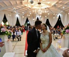 Villa Reale Ricevimenti - Il bacio degli sposi