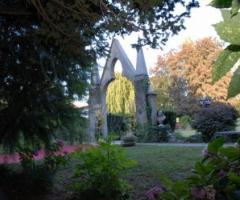 Il parco del castello per i ricevimenti di matrimonio