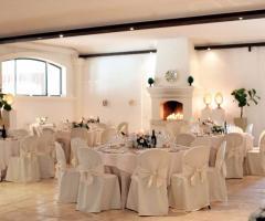 Masseria Montalbano - La sala ricevimenti